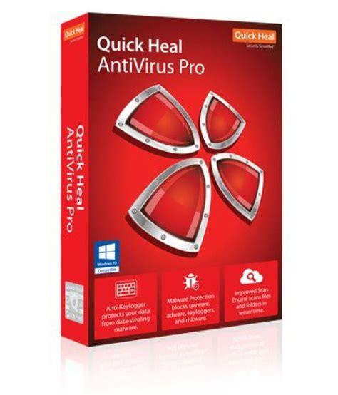 Quick Heal Antivirus Pro 2016 ( 2 PC/ 3 Year) CD - Buy ...