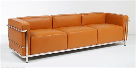 Lc Sofa by Le Corbusier Lc3 Grande Sofa Modernclassics