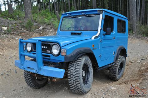 toyota 4wd toyota blizzard ld10 fj22 5 speed turbo diesel extremely