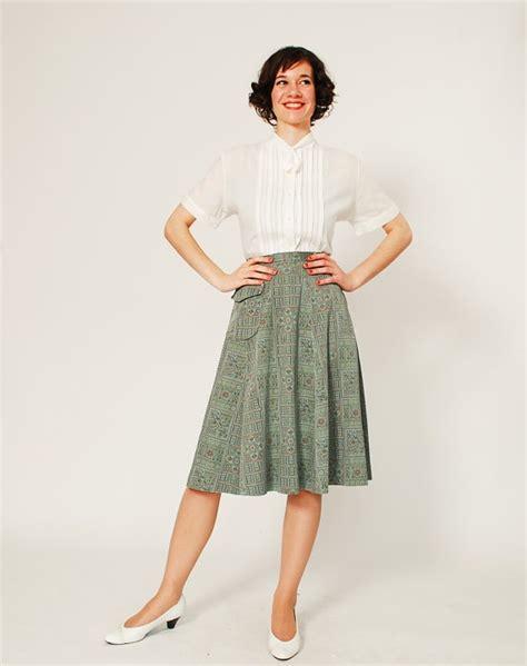 50s blouse vintage 50s blouse 50s white blouse tiny ascot