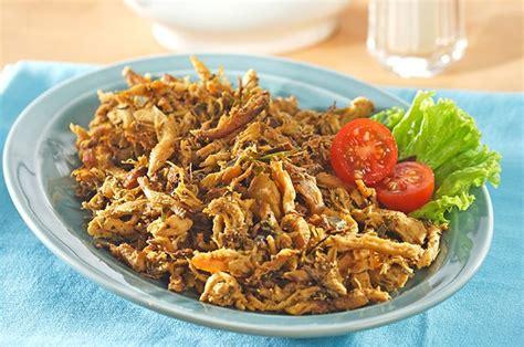 Resep opor ayam kuning 2. Resep Serundeng Pedas Ayam Suwir Enak, Menu Olahan Ayam Pilihan Untuk Makan Malam - Sajian Sedap