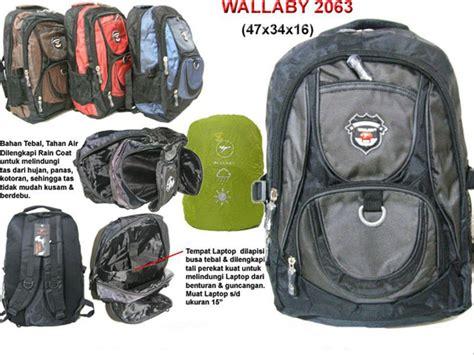 Merk Tas Wallaby jual tas ransel laptop wallaby 2063 di lapak closer amolaxina