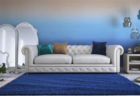 farbe für wohnzimmer wand wohnzimmer wandgestaltung mit farbe ombre wand streichen