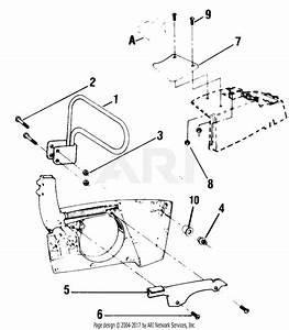 Poulan 8500 Gas Saw Parts Diagram For Chain Brake Assembly