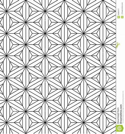 Sacred Geometry Pattern Vector Seamless Endless Texture