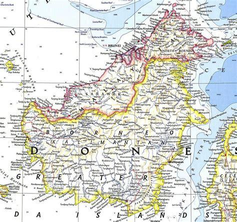 map  borneo google search borneo indonesia