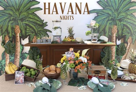 Celebrate Summer With A Havana Nights Themed Party