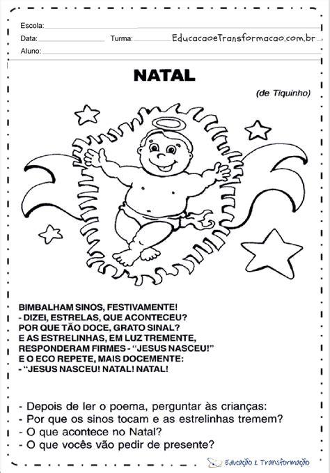 atividades natal  ensino fundamental  imprimir