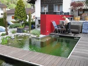 Badeteich Im Garten : kleiner schwimmteich haus dekoration ~ Markanthonyermac.com Haus und Dekorationen