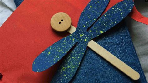 cute popsicle stick dragonfly diy crafts