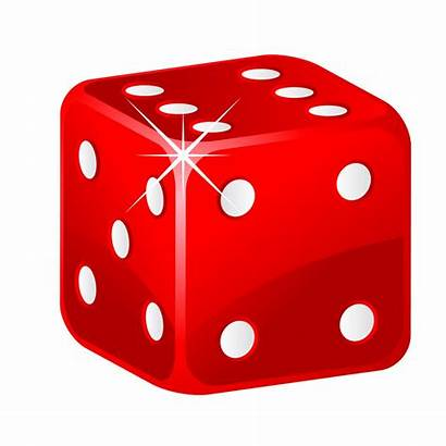 Dice Cube Clipart Number Faces Cliparts Math