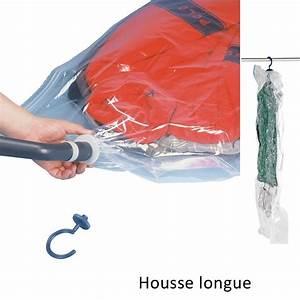 Housse Vide D Air : housse de rangement sous vide d 39 air wenko sur cintre 145x70 cm ~ Melissatoandfro.com Idées de Décoration