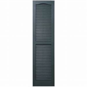 Shop Severe Weather 2-Pack Heritage Green Louvered Vinyl