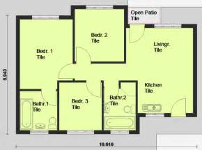 floor plans for homes one story simple two bedroom house plans pdf