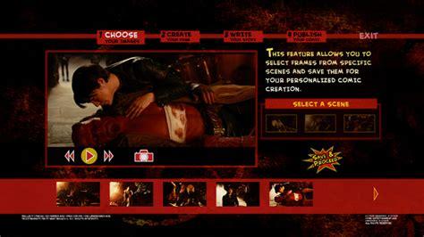 hellboy ii  golden army bluray interactive comic