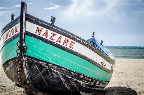 Portuguese Fishing Boat Plans by Portugal Boat Nazare Stock Photo 169 Vacik1 33457201