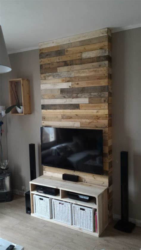 panel  wall  pallet wood  diy projects