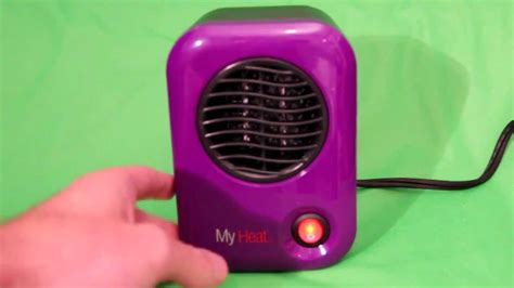 battery operated heat l lasko my heat personal ceramic heater review youtube