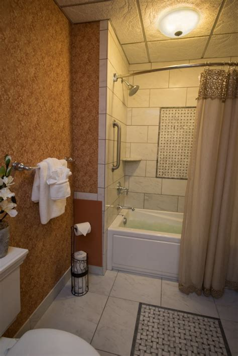 Jet Shower Tub by Two Room With Air Jet Tub And Shower Fulton