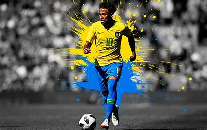 Neymar Jr 4k Brazil Football Team Wallpapers