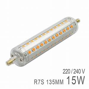 Ampoule Led R7s 50w : ampoule led r7s 15w 135mm boutique officielle ledkia ~ Edinachiropracticcenter.com Idées de Décoration