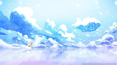 Anime Winter Wallpaper by Winter Anime Wallpaper 183 Wallpapertag