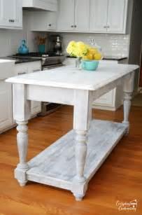 Diy Island Kitchen Diy Furniture Style Kitchen Island