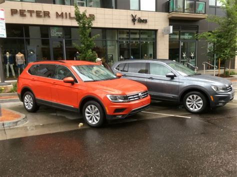 2018 Redesigned Suv by 2018 Vw Tiguan Review Redesigned New Volkswagen Suv
