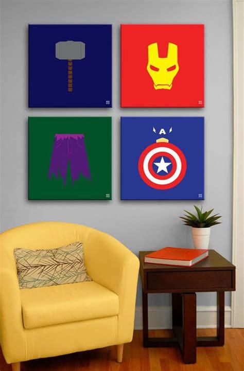 Marvel Avengers Wall Decor Ideas Home Desi On Marvels The