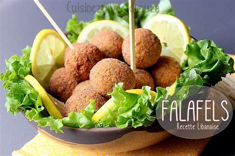 recettes de cuisine libanaise falafels libanaises aux pois chiches recettes faciles