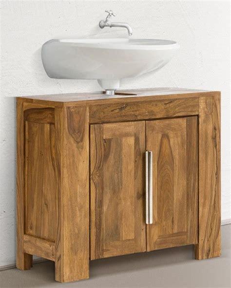 Bad Unterschrank Vintage by Die Besten 25 Waschbeckenunterschrank Holz Ideen Auf