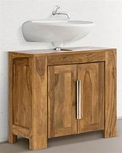 Badezimmer Unterschrank Holz : die besten 25 waschbeckenunterschrank holz ideen auf pinterest ikea waschbeckenunterschrank ~ One.caynefoto.club Haus und Dekorationen