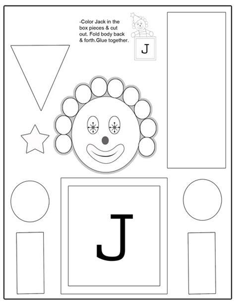 letter j crafts preschool and kindergarten 371 | letter j Craft