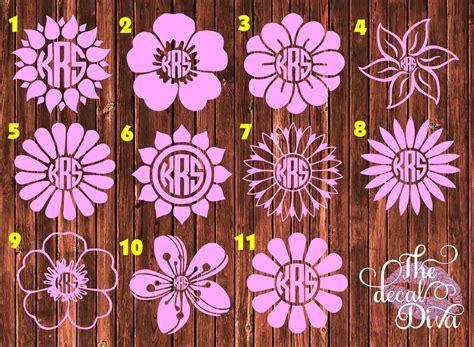 flower decal flower car decal laptop decal phone decal yeti decal vinyl sticker flower
