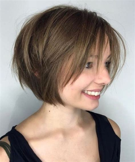 gorgeous short bob haircuts for women with fine hair