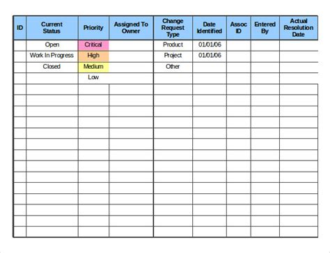 change log 24 change order templates pdf doc free premium templates