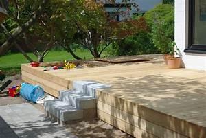 Bau Einer Holzterrasse : die holzterrasse holzrost thermorost die holzterrasse von parisini bau einer holzterrasse ~ Sanjose-hotels-ca.com Haus und Dekorationen