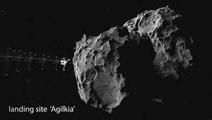 First Landing On an Asteroid - Pics about space