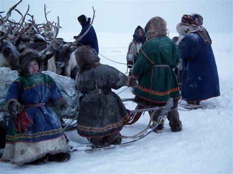 nenets people yamal peninsula photo