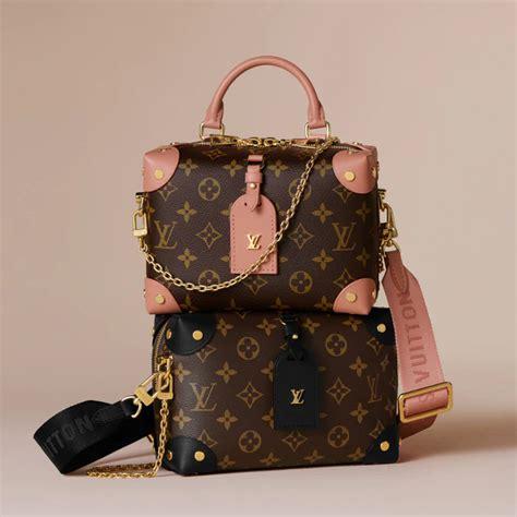 louis vuitton petite malle souple trunk inspired bag  peach   singapore girlstyle