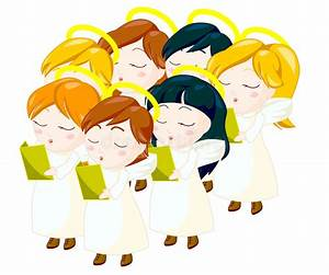 Angels choir stock illustration. Illustration of kids ...