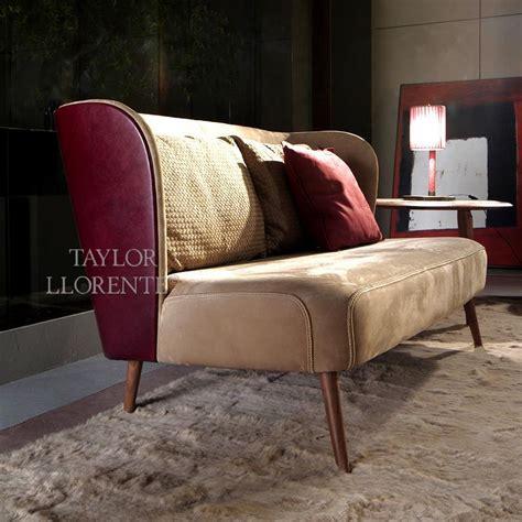 luxury leather sofa cocktail sofa taylor llorente