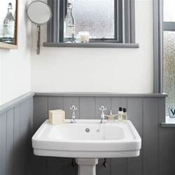 White And Gray Bathroom Ideas White And Grey Bathroom With Traditional Basin Bathroom Decorating Housetohome Co Uk