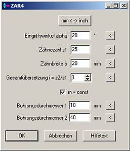 Zahnrad Berechnen : zar4 unrunde zahnr der ~ Themetempest.com Abrechnung