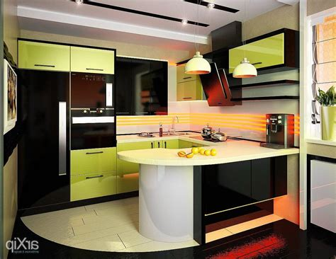 Contemporary Kitchen Design For Small Spaces Kitchen