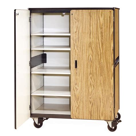 steel kitchen cabinet virco 2501 mobile storage cabinet with four shelves 2501