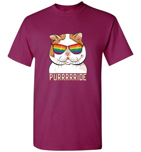 purrrrride lgbtq t shirt march for lgbtq