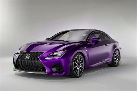 purple lexus lexus rc f colored cars