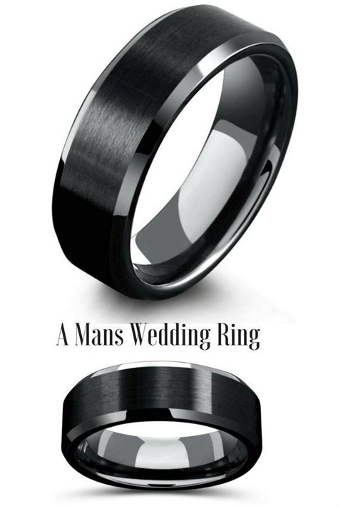 ideas  manly wedding bands