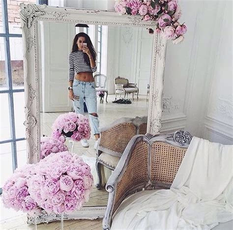 home accessory white mirror flowers tumblr home decor